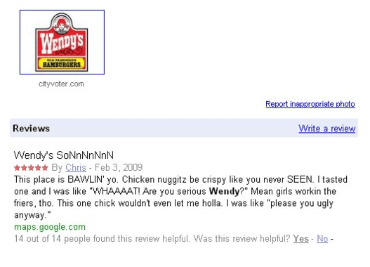 Best Wendy's Review Ever