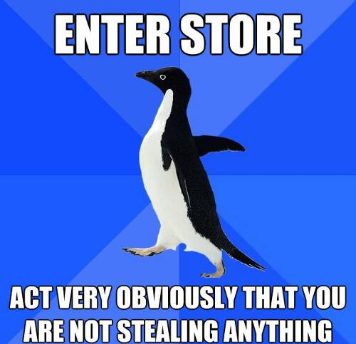 Act Like You Didnt Steal Anything