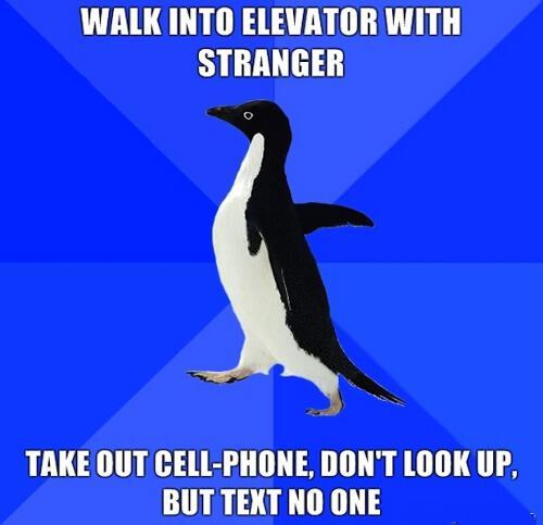 Avoiding Conversation With Strangers