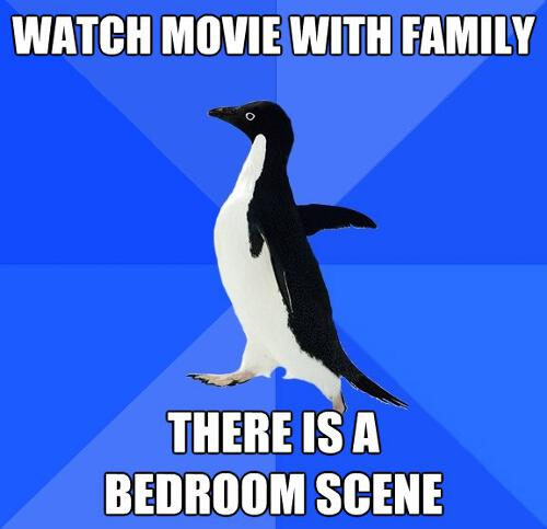 Funny Socially Awkward Penguin