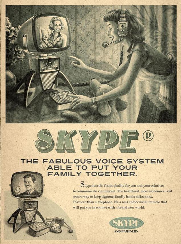 Skype Mad Men Advertisement Picture