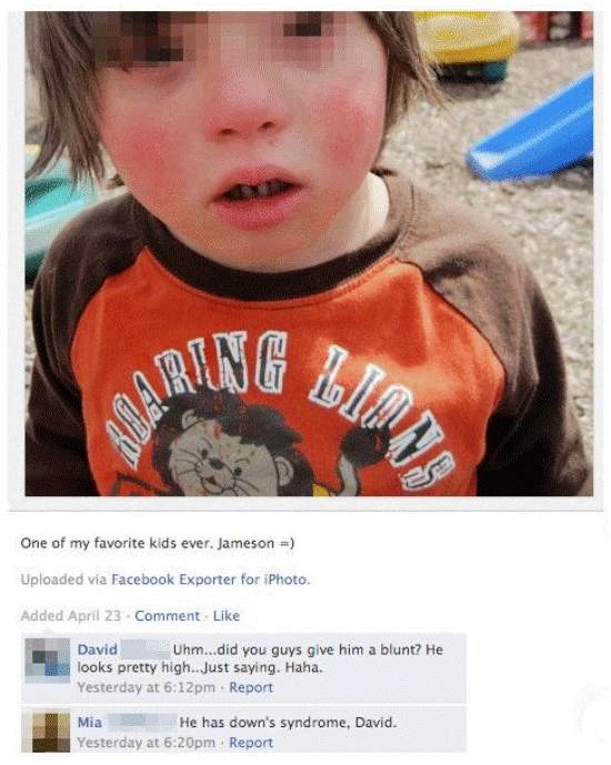 Down Syndrome Facebook Picture