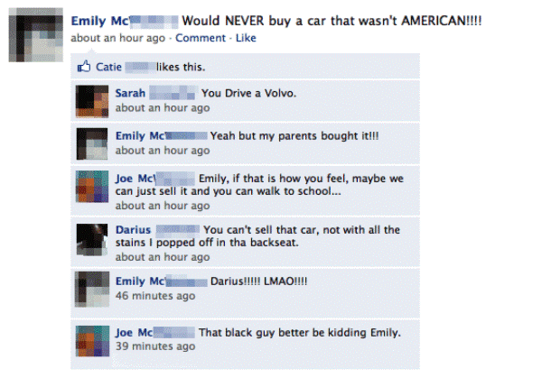 facebook-status-daddys-girl-american-cars
