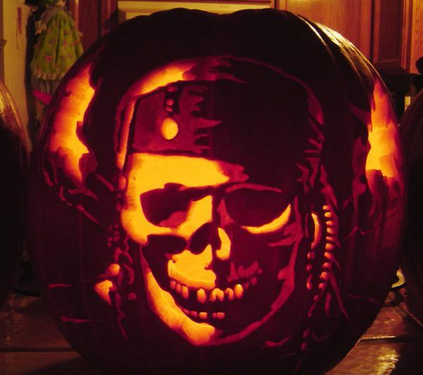 Jack Sparrow Jack O Lantern