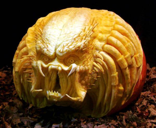 The Predator Carving
