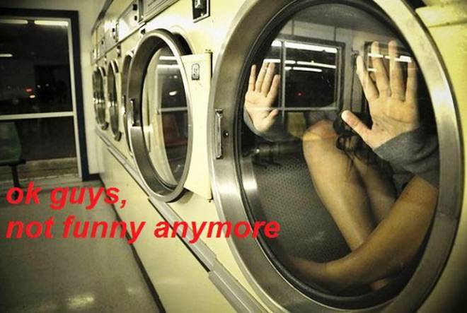 Trolling Tumblr Stuck In The Laundry
