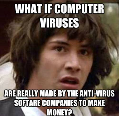 Who Makes Computer Viruses?