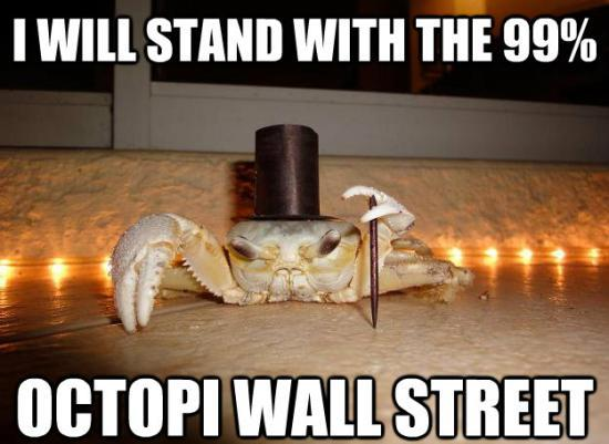 Fancy Crab Meme Wants To Octopi Wall Street