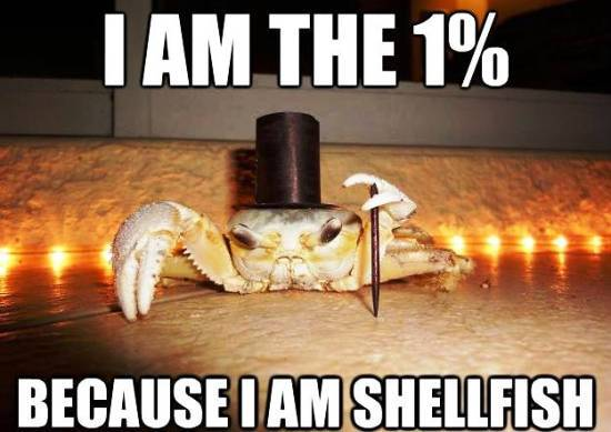 Fancy Crab Is The One Percent