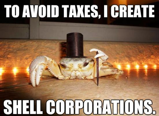 fancy-crab-shell-corporations