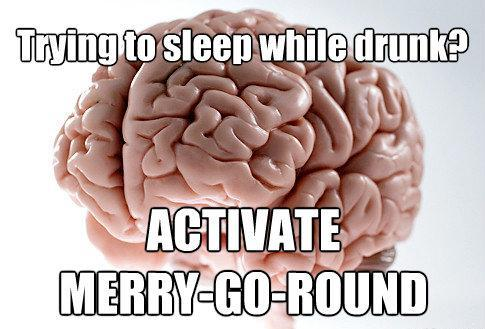 Brain Drunk Sleeping