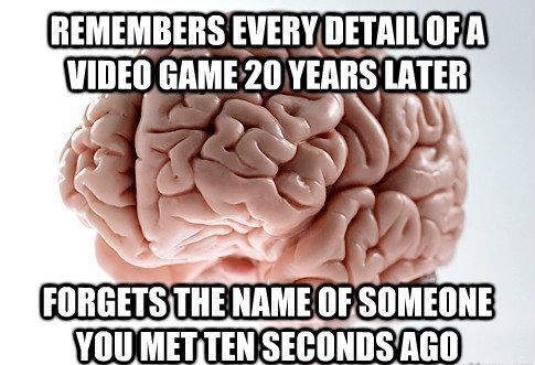 Brain Can't Remember Names