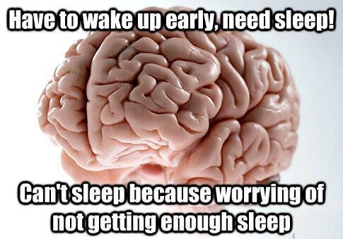 Scumbag Meme Brain Going To Sleep