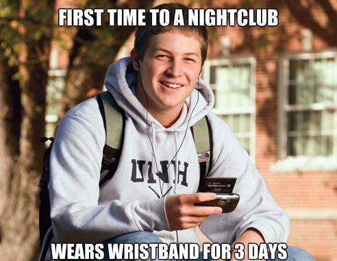 College Freshman Goes To Night Clubs