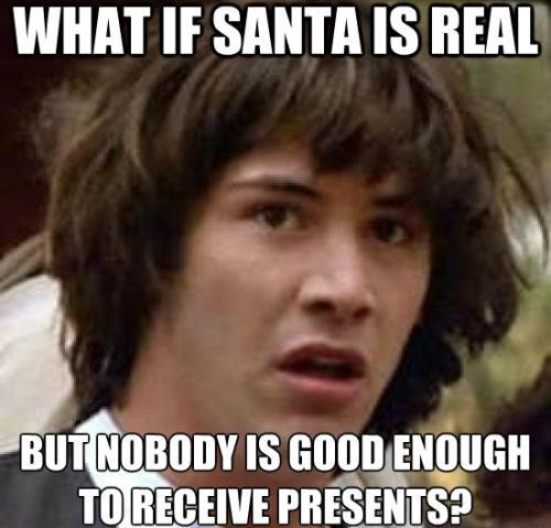 Keanu Santa Is Real