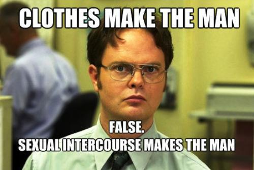 Dwight Schrute On Clothes