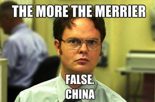 Dwight Schrute Meme More The Merrier China