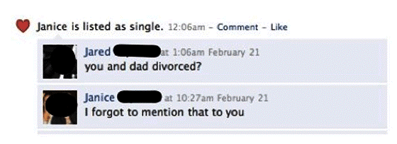 Facebook Parents Announce Divorce