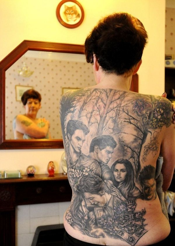 Worst Tattoos Ever Insane Twilight Tattoo
