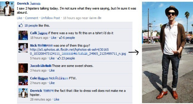 Glorious Facebook Fails Hipsters Hating Hipsters