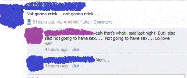 facebook parents mom sex Nine More Reasons Not To Friend Your Parents On Facebook
