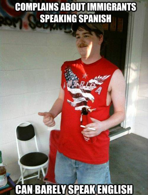 Redneck Randal Cannot Speak English