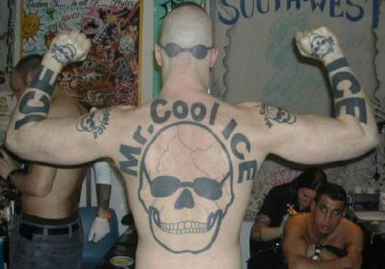 Terrible Tattoos 2 Cool Ice Photograph