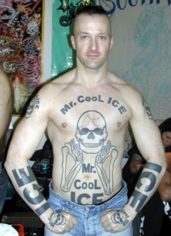 Terrible Tattoos 2 Cool Ice
