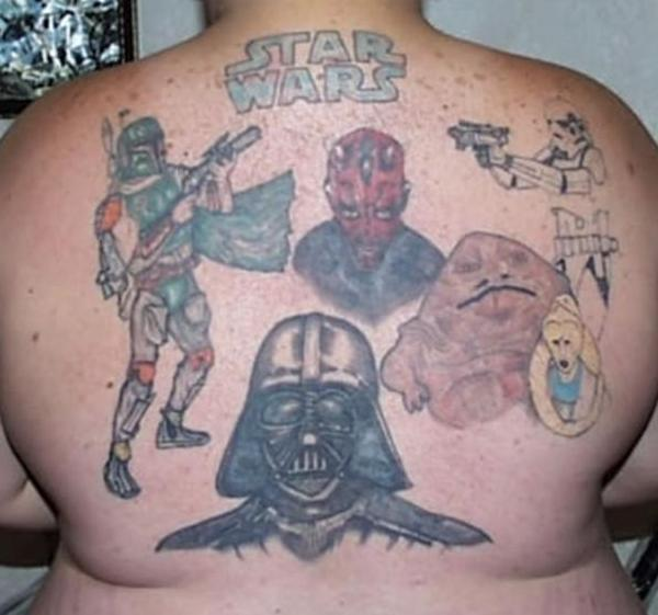 Terrible Tattoos Star Wars