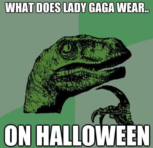 best-philosoraptor-lady-gaga-halloween