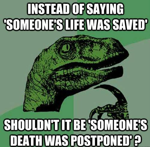 Philosoraptor Memes Life Death