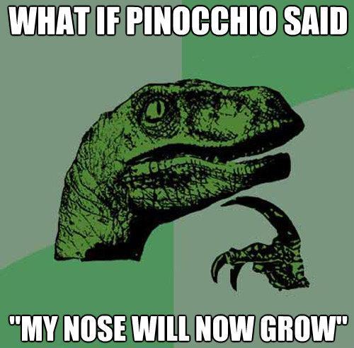 Philosoraptor Pinocchio