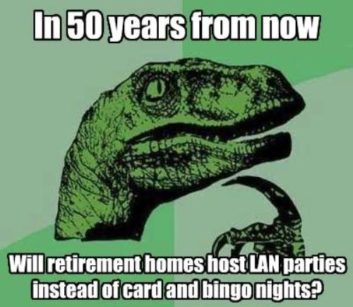 Philosoraptor Memes Retirement Parties