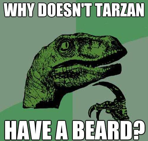 Philosoraptor Tarzan