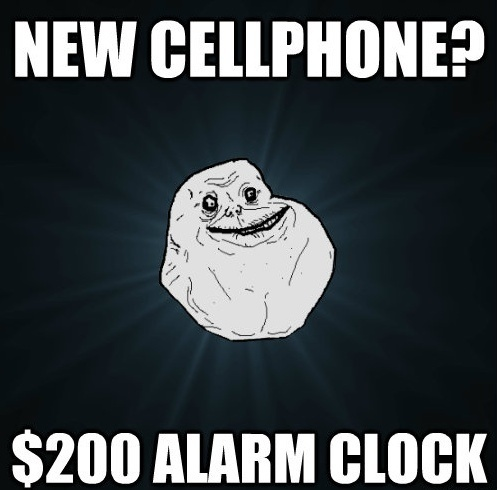 Forever Alone Cellphone