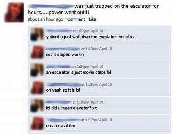 Escalator Facebook Post