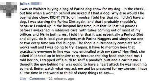 Walmart Facebook Prank