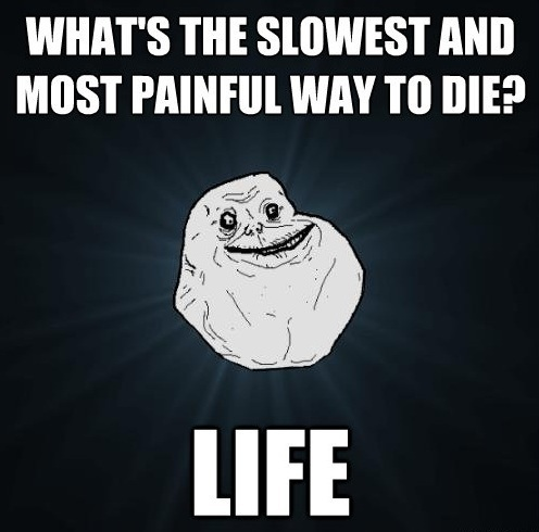 Painful Life Forever Alone Meme