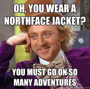 Condescending Wonka Northface