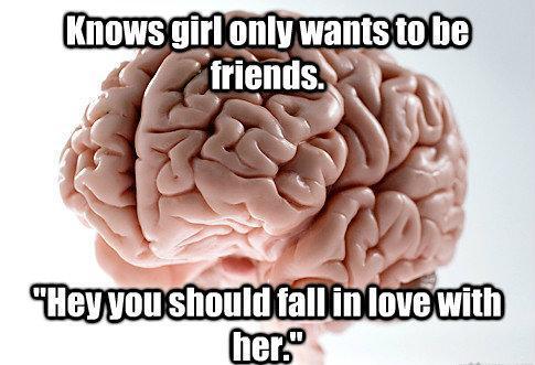 Scumbag Brain Meme Love