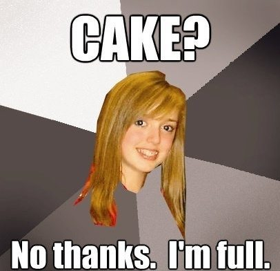 cake The Musically Oblivious 8th Grader Meme