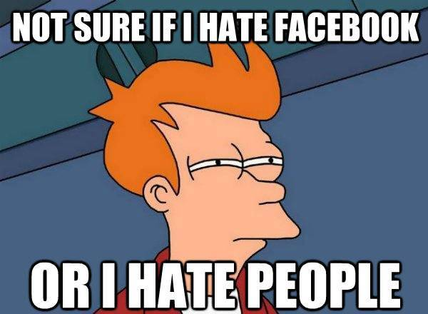 Fry On Facebook And People