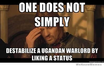 One Does Not Simply Kony Meme