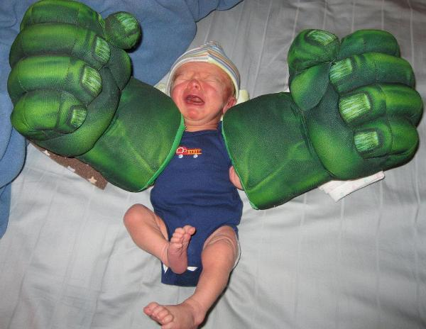 Terrible Parents Hulk Hands