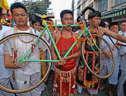 Worst Piercings Bike