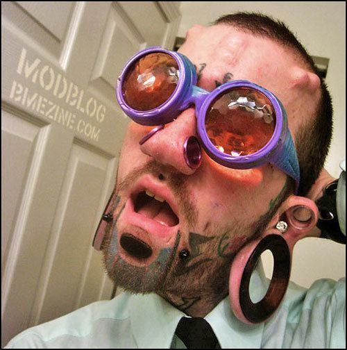 Worlds Worst Body Piercings Nostrils 2