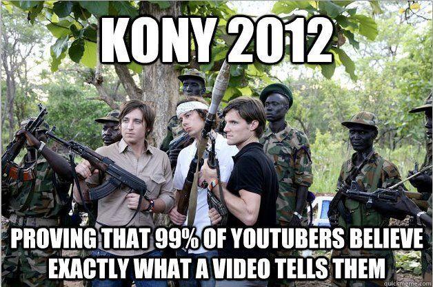 Kony Memes Youtube Users