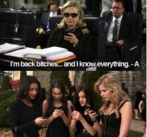 back hillary Texts From Hillary Clinton