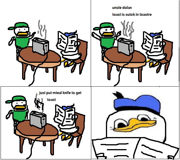 Dolan Toaster Cartoon