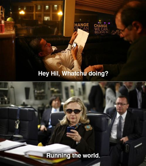 Texts From HRC Barack Obama